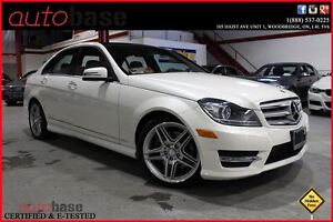 2013 Mercedes-Benz C-Class C350 4MATIC NAVIGATION | PANORAMIC |