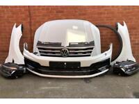 Tiguan r -Line Complete Front End Bumper Bonnet Headlights FaceLift 2016-2018