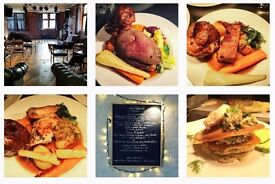 Award Winning Pub and Kitchen looking for New Head Chef.
