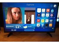 """43"""" SMART TV WIFI FULL HD 1080p CAN DELIVER."""