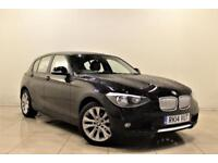 BMW 1 SERIES 2.0 120D URBAN 5d 181 BHP + 1 OWNER FROM NEW + AUX + MP3/CD (black) 2014