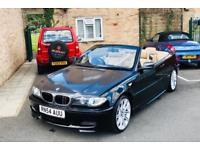 LOW MIL 2005 BMW 320CD CONVERTIBLE🌞 M SPORT MANUAL 6