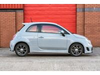 Beautiful 2014 Fiat 500 Abarth 1.4 T-Jet (campovolo grey)