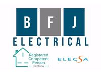 Do you need an Electrician? Have a project? Fully qualified and registered with a governing body