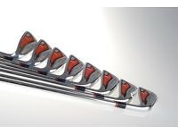 Cobra AMP FORGED Irons - Steel Shafts RRP £799 Unused