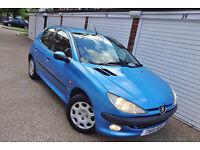 ## Cheap 1999 T Peugeot 206 1.6 GLX 5 Door ##