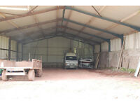 Covered storage - boats, caravans, pallets, cars