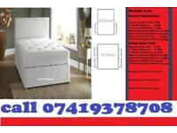 Brand New SINGLE DOUBLE SMALL KINGSIZE Double Base Dlvan Frame Bedding