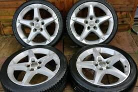 """Vauxhall Corsa D SRI Pentagon 17"""" alloy wheels - 5 x 110 - 215/40 - Pentas - XP Pack - £200"""