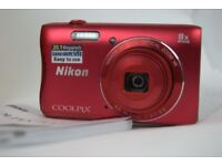 New Nikon Coolpix Digital Camera with Optical Zoom and Movies