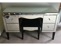 NEXT MIRRORED DRESSING TABLE/STOOL, CHEST OF DRAWERS, BEDSIDE DRAWERS, FANTASTIC CONDITION!