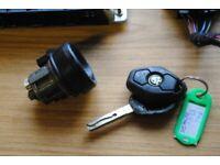 BMW E46 2.5 M54B25 ECU ENGINE CONTROL UNIT MS43 KEY BARREL & EWS MODULE 5WK90015