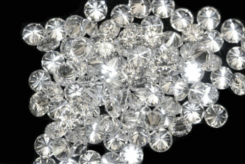 0.10CT NATURAL Loose 10 Stones Round Diamonds Clarity SI1-SI2 G-H White Color