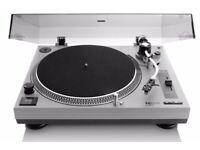 Lenco L-3808 USB record player/turntable - white