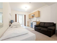 Brand new large family sized studio with private patio (sleeps 5 persons) on Fellows Road NW3