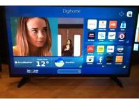 """43"""" SMART TV DIGIHOME WIFI FULL HD 1080p CAN DELIVER."""