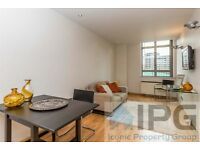 Modern Spacious Newly Refurbished 1 Double Bedroom Apartment With Flat Screen TV, Concierge & Gym.