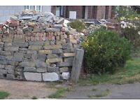 Brick/Block Hardcore (Free clean Hardcore , bricks, clinker blocks, as photo ) Free