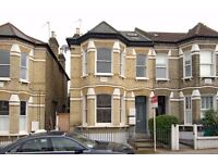 A SPLENDID TWO DOUBLE BEDROOM GARDEN FLAT WITH LARGE RECEPTION ROOM ON BROOMWOOD ROAD, BATTERSEA
