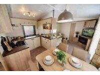 Luxury static caravan for sale with decking & sea views! Beach! Devon