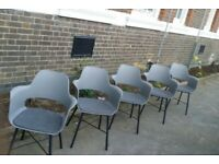 6 Grey Boardroom/Meeting/Conference/Office chair £50 each
