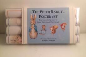 4 brand new Beatrix potter poster