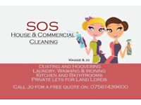 SOS HOUSE & COMMERCIAL CLEANING, 10% OFF for old age pensioners!