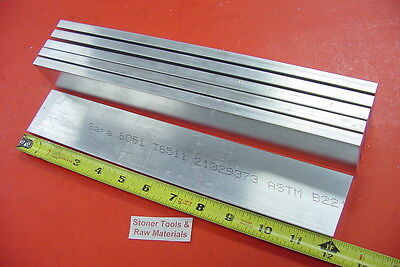 6 Pieces 38 X 2 Aluminum 6061 Flat Bar 12 Long Extruded Plate Mill Stock 72