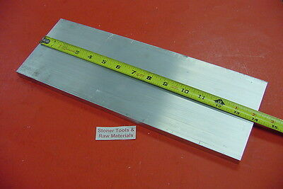 38 X 6 Aluminum 6061 Flat Bar 14 Long T6511 Solid .375 Plate New Mill Stock
