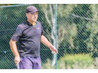Tennis Coaching at Wimbledon park.
