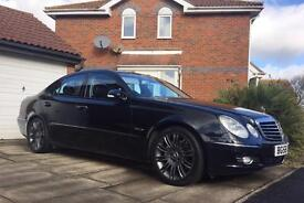 "MERCEDES E class 3L V6 CDI SPORT with ""paddle shift"""