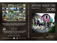 APPLEBY HORSE FAIR 2016 DOUBLE DVD