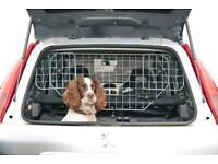 Car boot dog guard