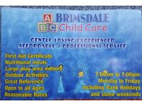 Professional child care services at an affordable price