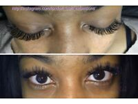 Individual Eyelash Extensions 1D-3D-7D volume or natural lashes in London