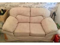 2 seater sofa hardly used
