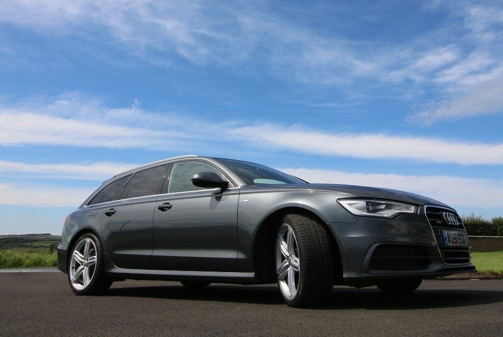 Audi A6 Avant 3.0 BiTDi (313ps) S Line Tiptronic Quattro 5dr - FSH - Bose - Sunroof - Google -