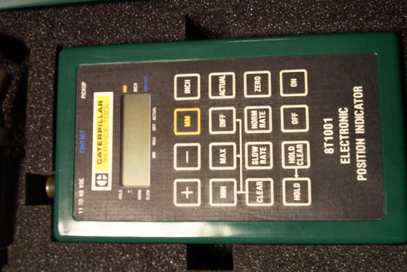 Caterpillar 8T1001 Digital Electronic Position Indicator - Used