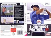 nintendo wii tiger woods PGA tour golf