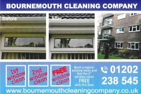 Bournemouth Cleaning Co, Window Cleaning - Gutter Cleaning & Jet washing