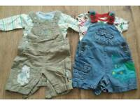 Baby boy summer clothing bundle 0-3 mths