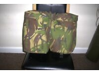 BRITISH ARMY DPM ROCKET SIDE POUCHES WITH YOKE