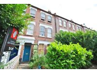 Victorian Conversion Flat with One Double Bedroom and Large Bright Reception. Available July