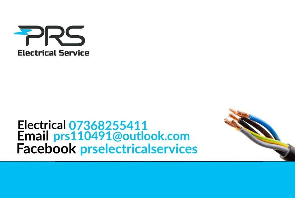 PRS ELECTRICAL SERVICES #1 Electricians in Glasgow