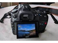 Sony A300 with 2 lenses and accessories