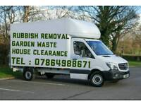 RUBBISH REMOVAL WASTE DISPOSAL HOUSE CLEARANCE