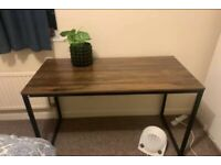Stylish Brown Computer Desk - New London Stylish Brown Computer Desk - New