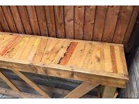 Wooden Furniture- indoor or outdoor use. URGENT SALE