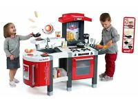 BRAND NEW SMOBY TEFAL SUPER CHEF CHILDRENS PLAY KITCHEN ROLEPLAY TOY RRP £159