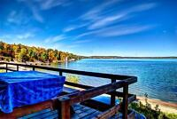 Vacancy in a deluxe lakefront cabin August 3-9!!